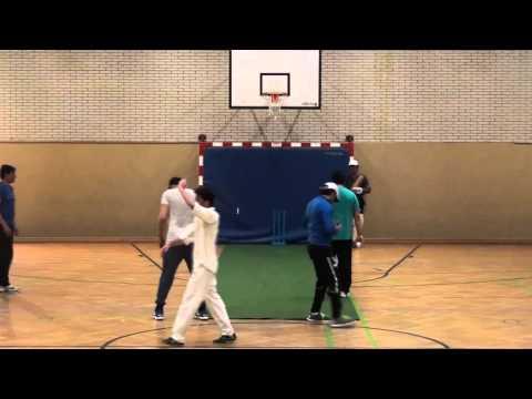 Frankfurt Cricket Club - FCC - Indoor Training November 13, 2015