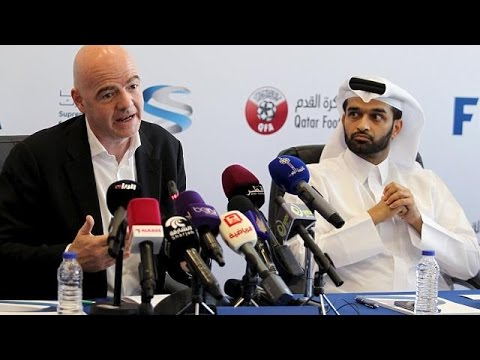 World Cup 2022: FIFA President Infantino visits Qatar's Supreme Committee ...