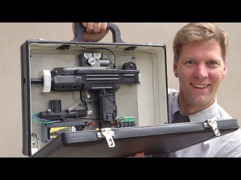 Homemade Machine Gun Briefcase from The Kingsman
