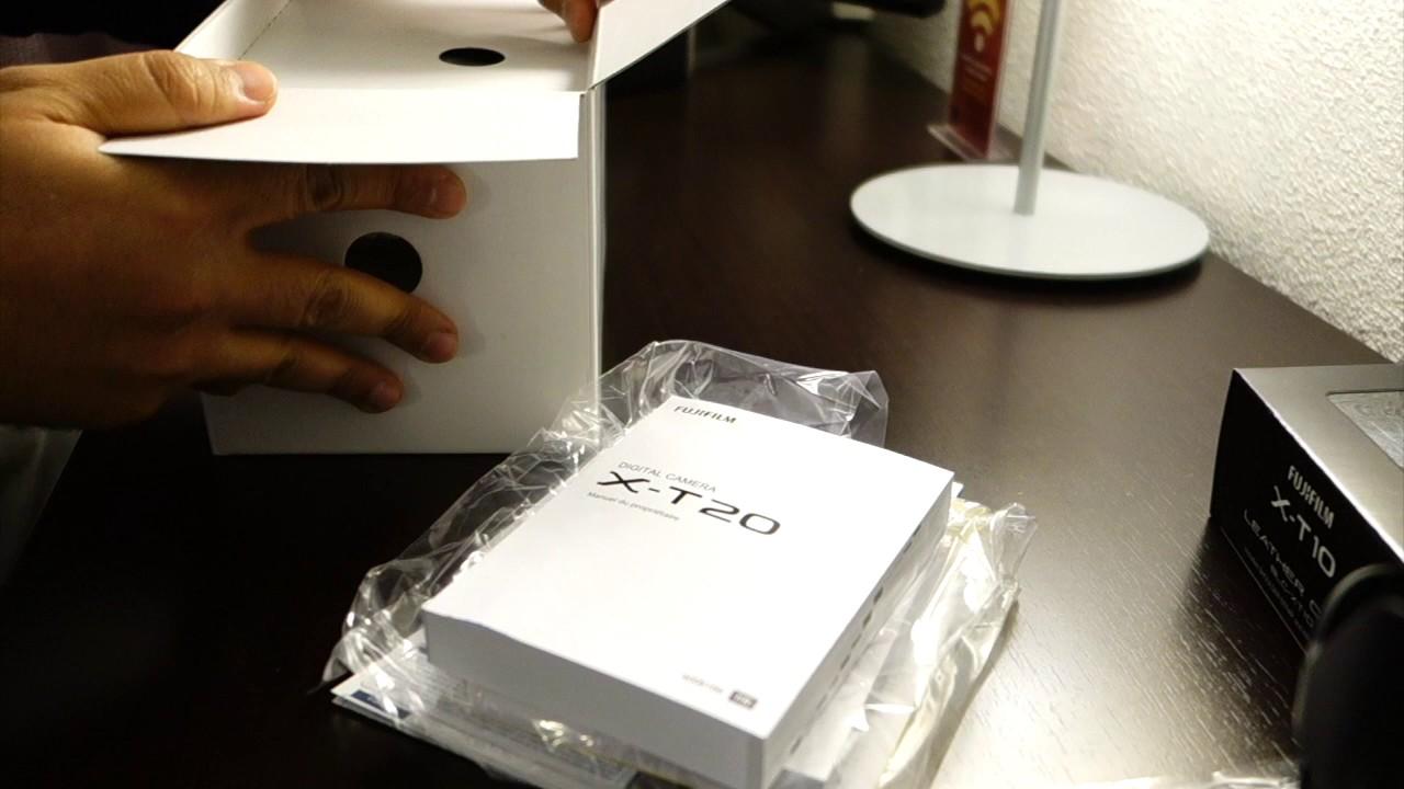 unboxing fujifilm xt20 kit xf 18 55mm f2 8 r lm ois youtube. Black Bedroom Furniture Sets. Home Design Ideas