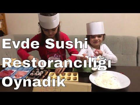 Evde Sushi Restoranı Yaptık - Sushi Canavarı Bu Kez Sushi Chef'i Oldu