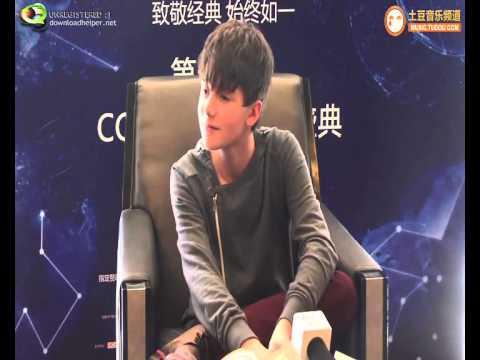 Greyson Chance INTERVIEW at CCTV MTV Awards LONG VERSION