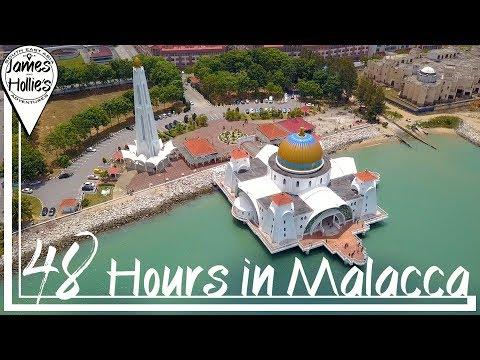 48 HOURS IN MALACCA (Melaka) Travel Guide | Barbster360 Travel Vlog