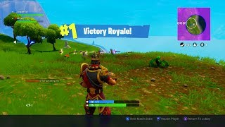We Won First Game On With The New Wukong Skin (Fortnite Battle Royale Duos Win) Ft. Saiyans