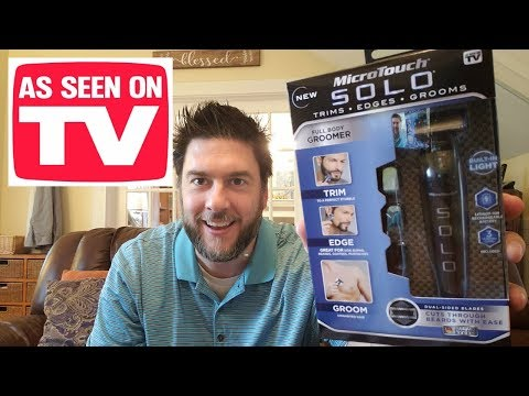 MicroTouch Solo review: full body groomer.  As seen on TV product reviews put to the test!