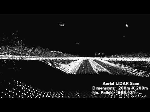 Aerial LiDAR scan
