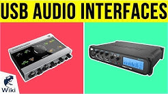 10 Best USB Audio Interfaces 2019