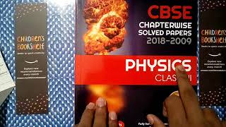 CBSE Chapterwise Physics Class 12th by arihant aquashine om REVIEW
