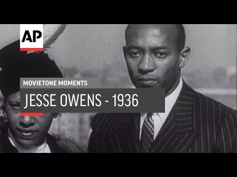 Jesse Owens 1936 | Movietone Moments | 16 August 19