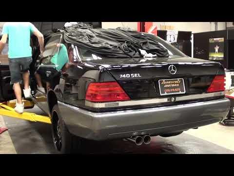 Mercedes Benz S-class W140 740SEL Exhaust Sound