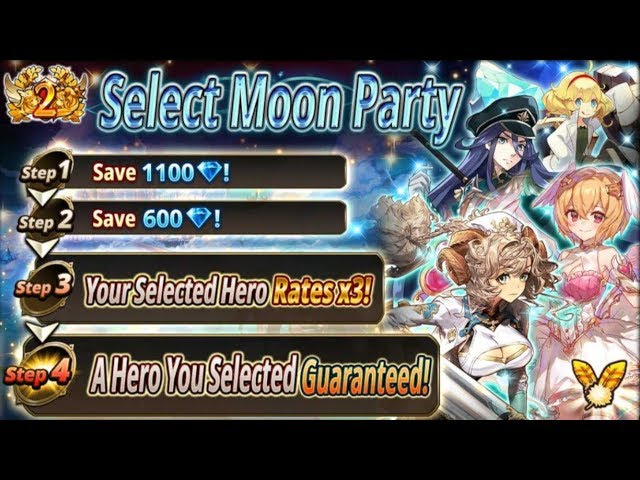 Usagi and Azumi Select Moon Party - Valkyrie Connect