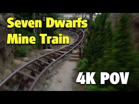Seven Dwarfs Mine Train | Magic Kingdom | 4K