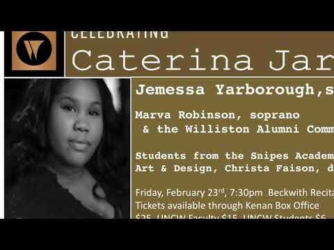 Celebrating Caterina Jarboro Recital