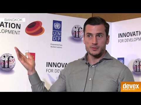 Benjamin Kumpf on the incentives and challenges of innovation at UNDP
