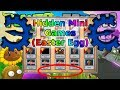 How to unlock the Hidden Minigames (Secret Levels) | Plants vs Zombies | Tutorial #3
