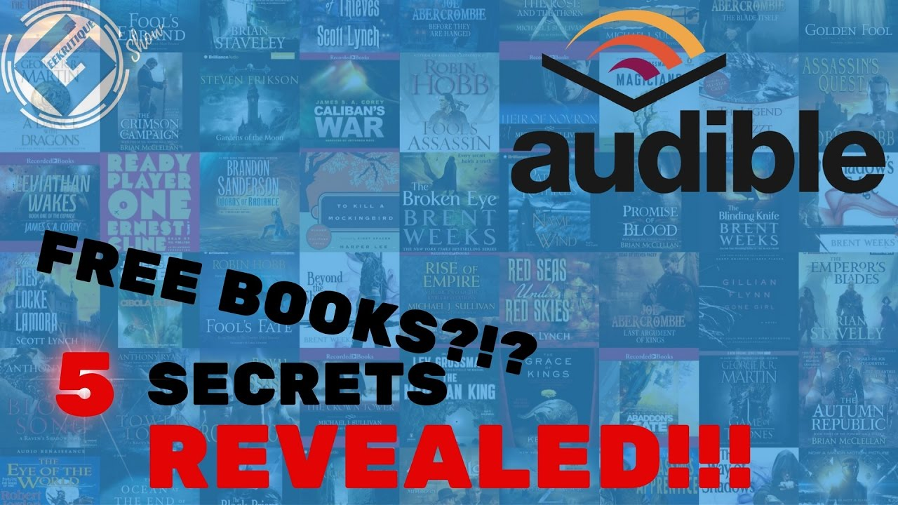 Audible Account Sharing how to get free books on audible (legally)