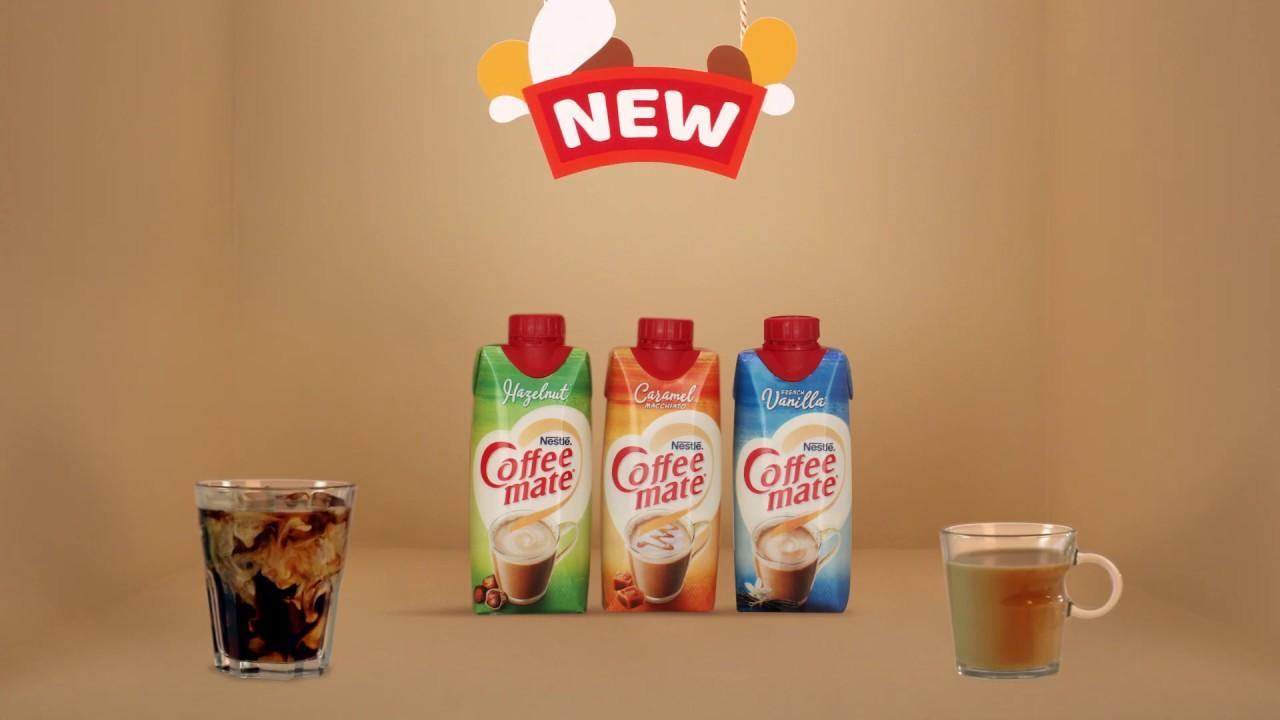 New Liquid Coffee Mate Caramel Macchiato