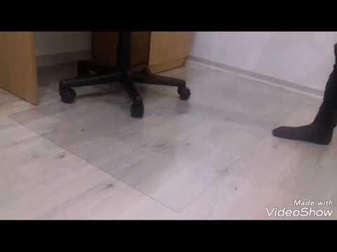 Защитный коврик под компьютерное кресло!