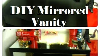 Diy Mirrored Vanity