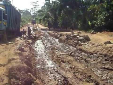 Les routes de Wawa au Togo