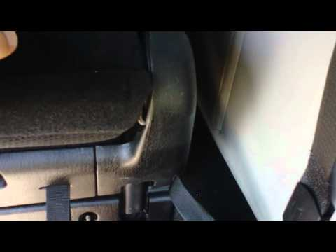 HOW TO STOW THE REAR SEATS ON A GRAND CARAVAN