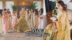 VLOG My Bridesmaid Shoot || BTS Indian Wedding Blogger