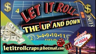 Craps Betting Strategy - THE UP AND DOWN - BEGINNER INTERMEDIATE OR HIGH ROLLER STRATEGY