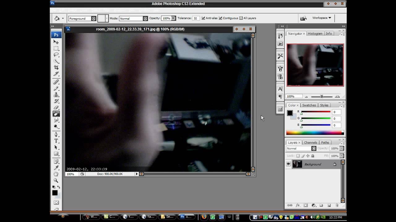 Security webcam installation software