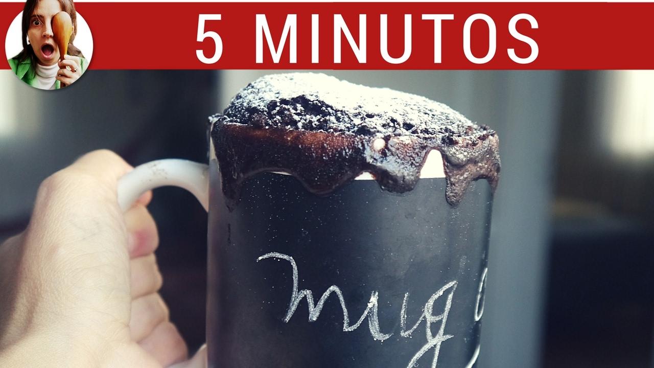Mug Cake de Chocolate: torta en 5 minutos - Paulina Cocina