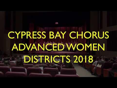 Cypress Bay High School Chorus. Advanced Women. 2018