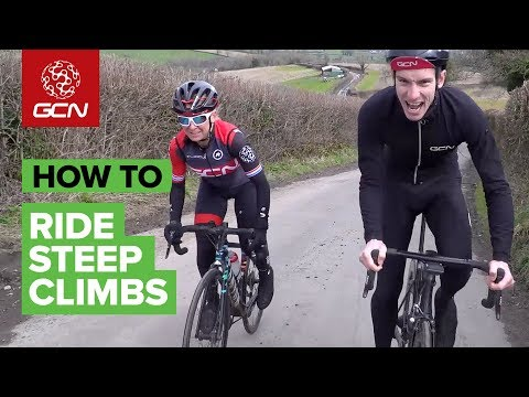 How To Ride Steep Climbs On A Road Bike