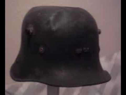 IRISH ARMY MODEL 1927 VICKERS STEEL HELMET