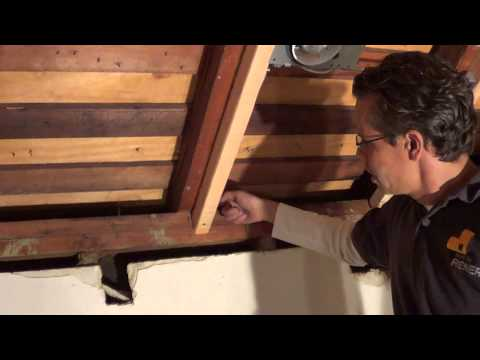 How to convert a conventional flat ceiling into a VAULTED CEILING!