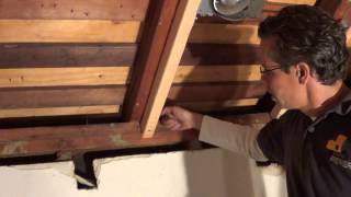 How to convert a conventional flat ceiling into a VAULTED CEILING! thumbnail