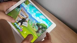 Ipad 2018 Fortnite Gameplay ( Ipad 6. Generation)