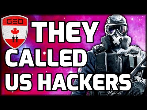 They Called Us Hackers | FUNNY MOMENTS (Rainbow Six: Siege)