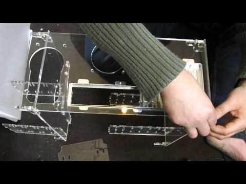 Plexiglass design come nasce un porta pc da letto servilio youtube