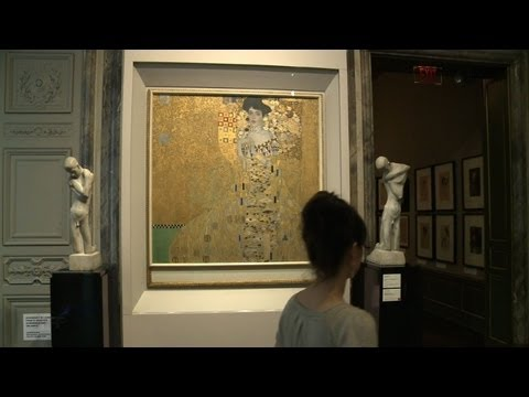 Klimt masterpieces glitter on 150th anniversary
