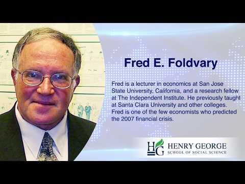 Smart Talk With Fred Foldvary