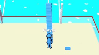 Bridge Race - All Levels Gameplay Android, iOS screenshot 1