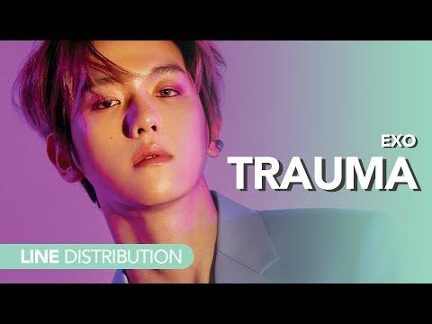 엑소 EXO - 트라우마  Trauma | Line Distribution