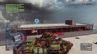 Bf4 how to get tank to Shanghai tower