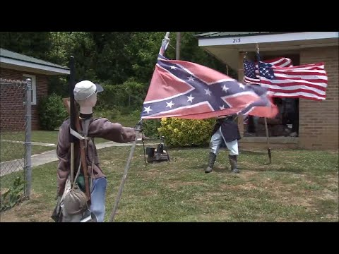 Housing authority: Civil War displays 'have to go'