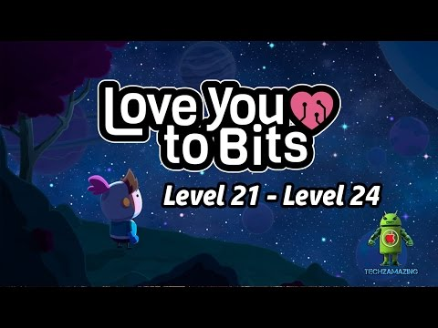 Love You To Bits Level 21 22 23 24 Gameplay Walkthrough