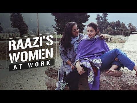 Raazi's woman at work | Meghna Gulzar | Alia Bhatt | Vicky Kaushal | 11 May