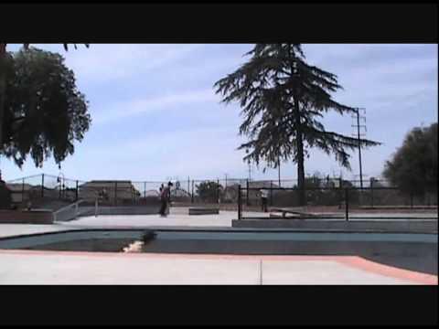 John Boyes - Pool Skating