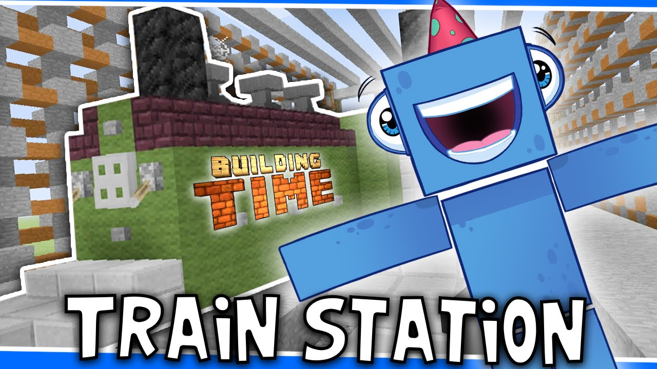 Minecraft Xbox - TRAIN STATION!! - Building Time! [#34