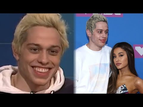 Pete Davidson JOKED About Ariana Grande Dumping Him Before The Breakup