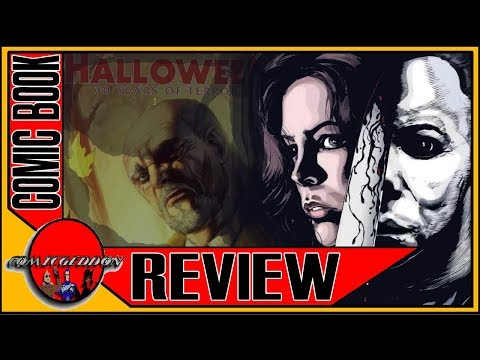 Halloween: 30 Years of Terror | Michael Myers Halloween Comic Book Review | Devil's Due Publishing