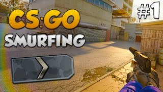 CS:GO SMURFING #1 - JOINING A SILVER CLAN!...